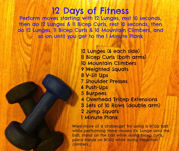 New 12 days of fitness