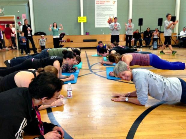 plank contest