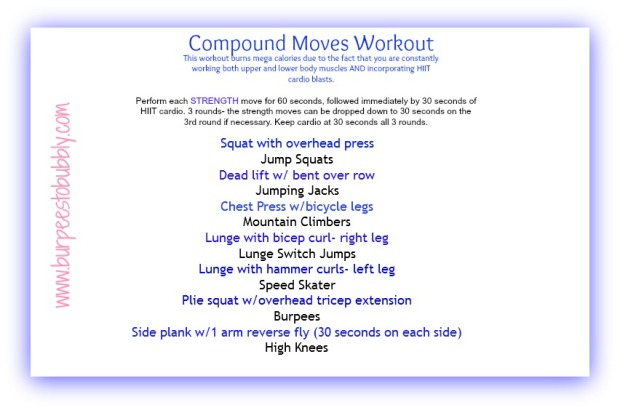 Compound Moves Workout