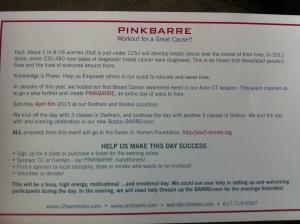 PinkBarre