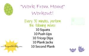 WFH workout