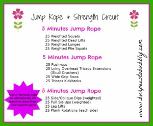 Jump Rope and Strength Circuit