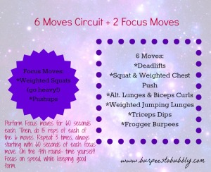 6 moves circuit + 2 focus moves