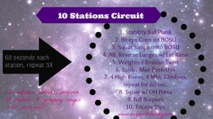 10 stations circuit