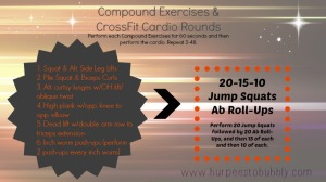 Compound Exercises and CrossFit cardio