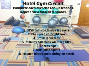 Hotel Circuit Workout
