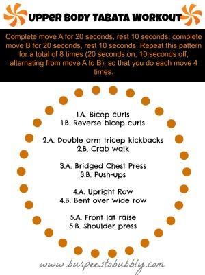 Upper Body Tabata Workout