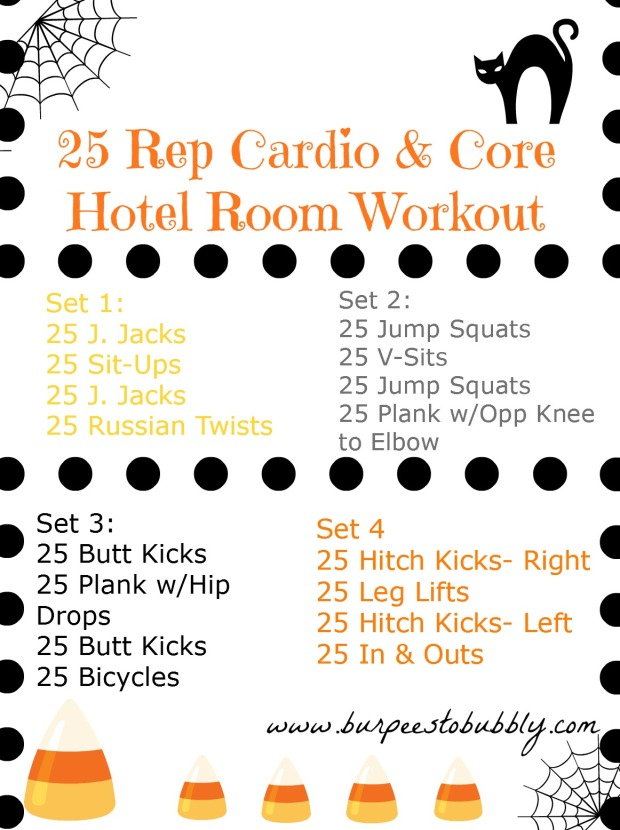 25 Rep Cardio & Core workout
