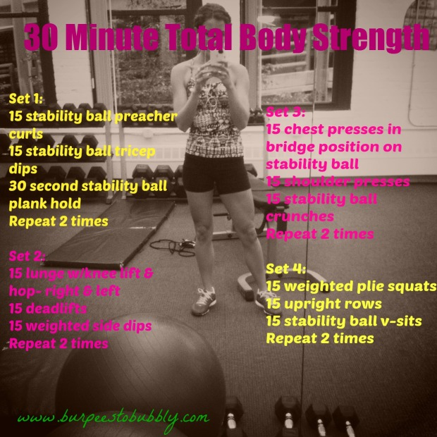 30 minute total body strength