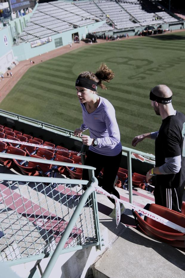 spartan race- stairs