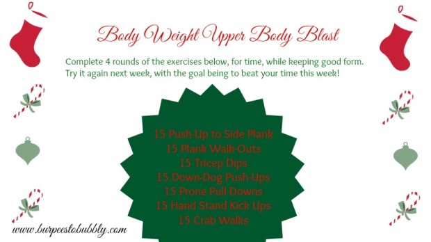Body Weight Upper Body Blast