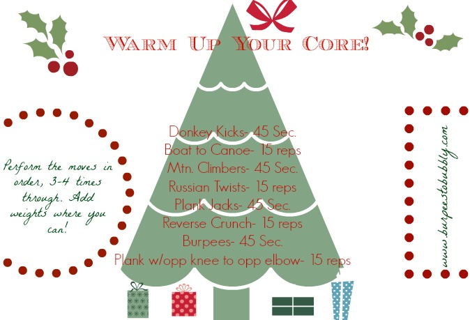 {Holiday Series} Wednesday Workout: Warm Up Your Core ...
