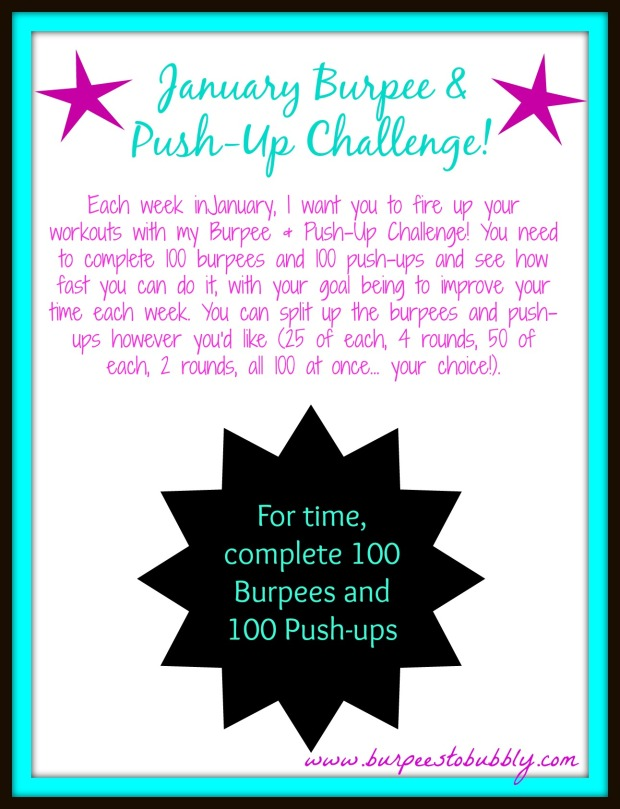 January Burpee & Push-Up Challenge