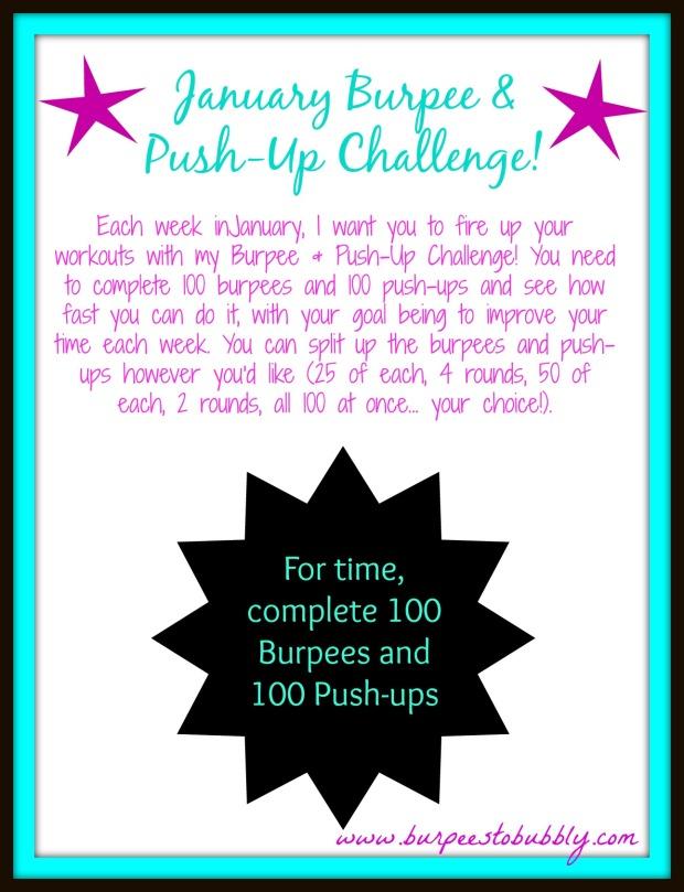 January Burpee & Push-Up Challenge