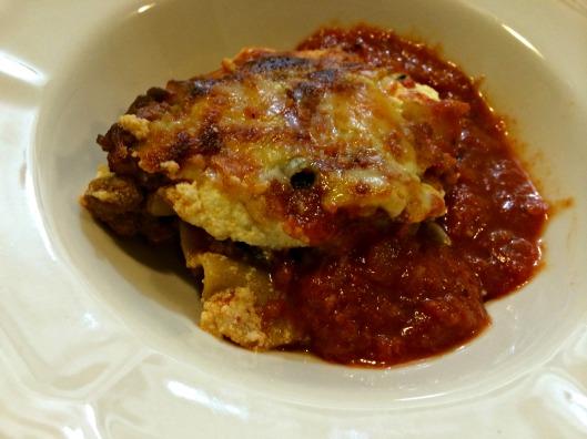 Caramelized Onions, Mushrooms, Kale & Ground Turkey Lasagna | Burpees ...