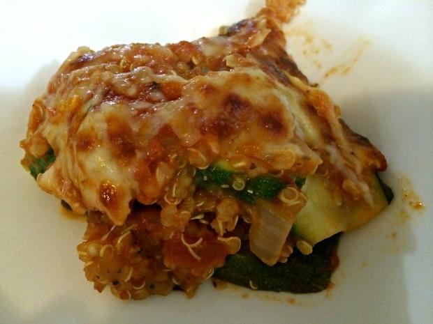 zucchini quinoa lasagna 3