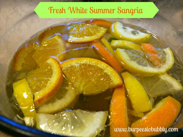 Fresh White Summer Sangria