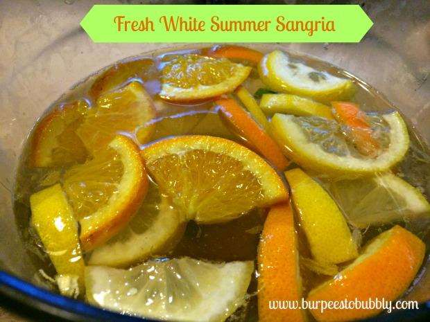 Fresh White Summer Sangria