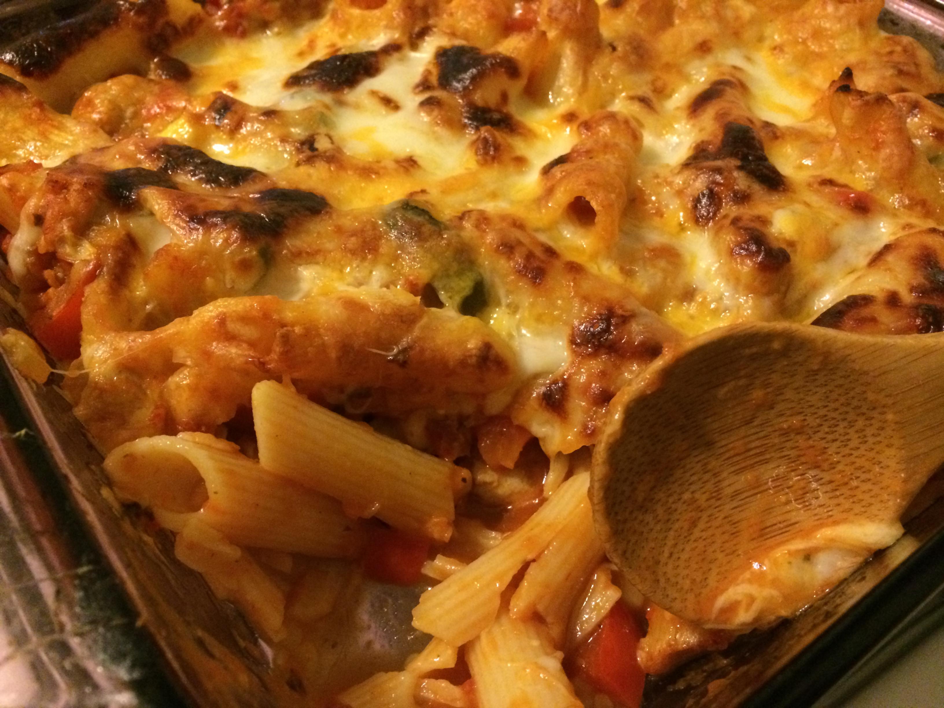gluten free pasta bake chicken