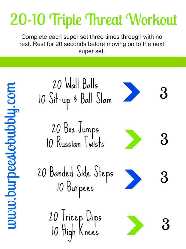20-10 Triple Threat Workout