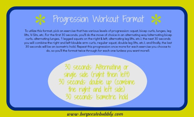 Progression Workout Format