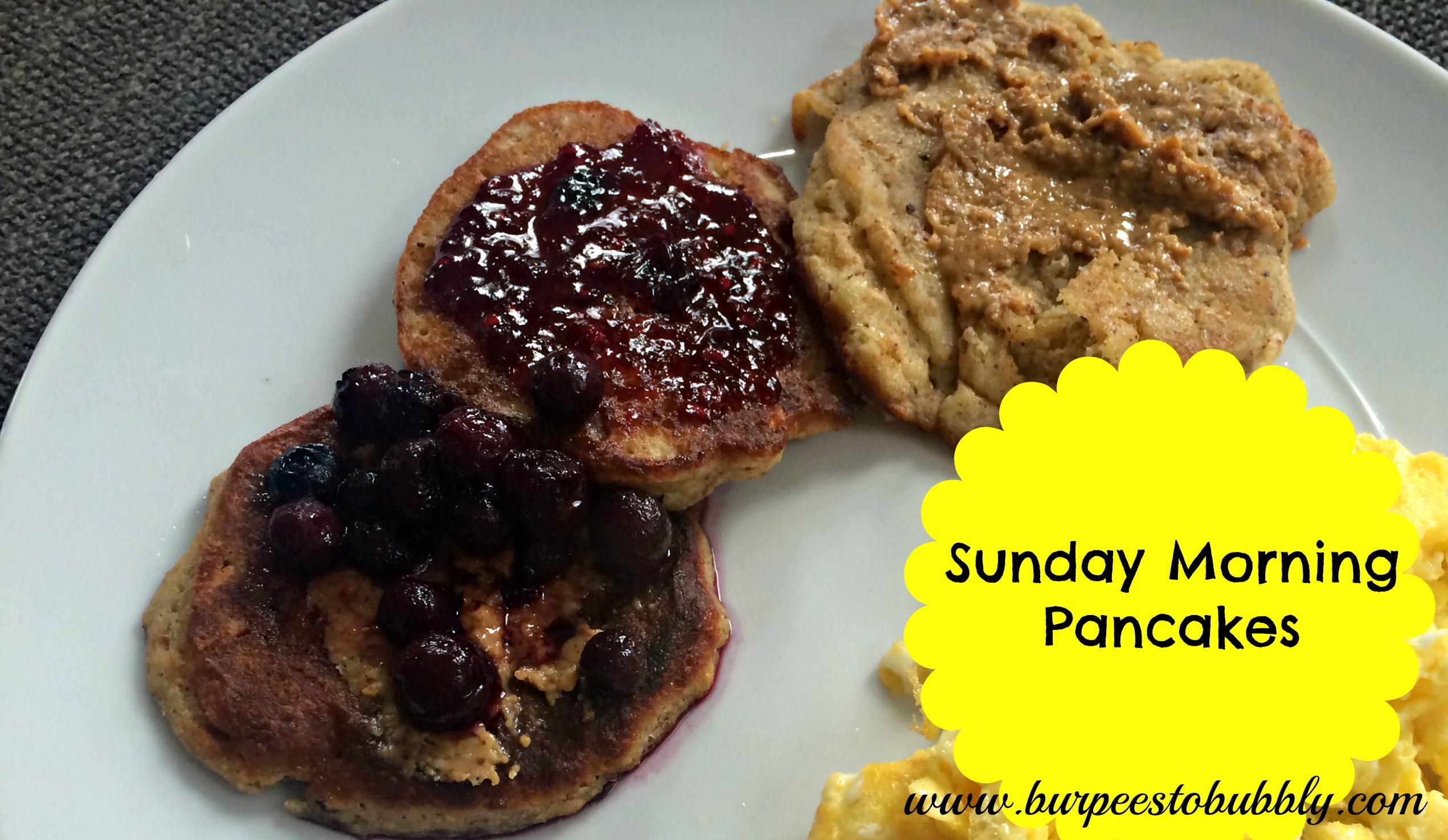 "Sunday Morning ""Pancakes"" – Burpees to Bubbly"