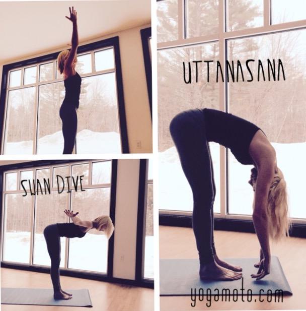Malinda guest post Swan Uttanasana