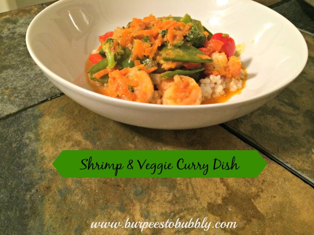 shrimp & veggie curry dish 1