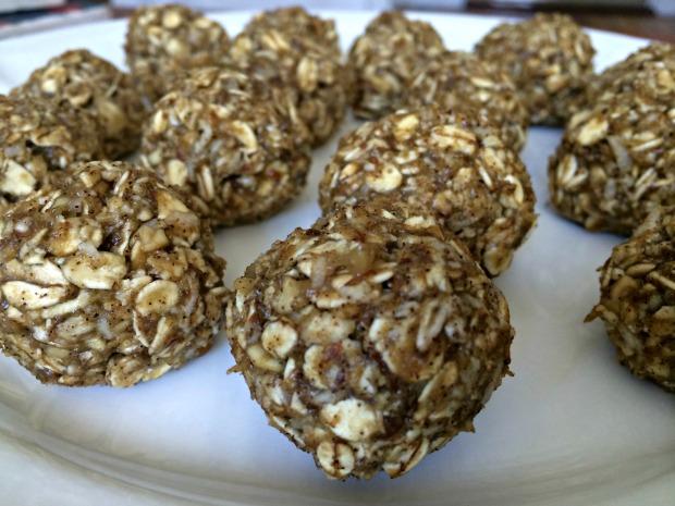 PB banana oatmeal protein balls 2