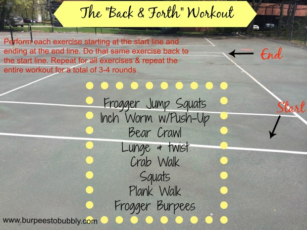 The back & forth workout
