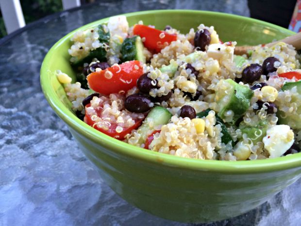 Loaded quinoa salad 2