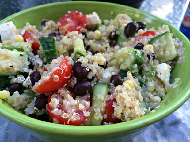 Loaded quinoa salad 3