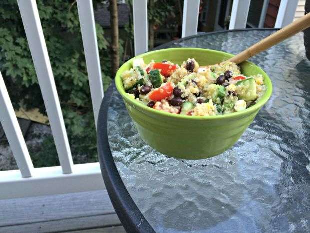 Loaded quinoa salad 4