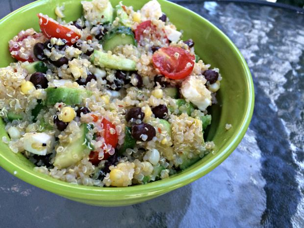 Loaded quinoa salad 5