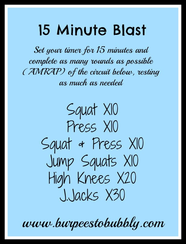 15 Minute Blast