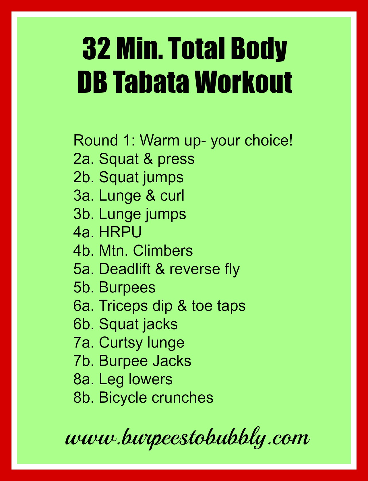 Best Tabata Exercises At Home