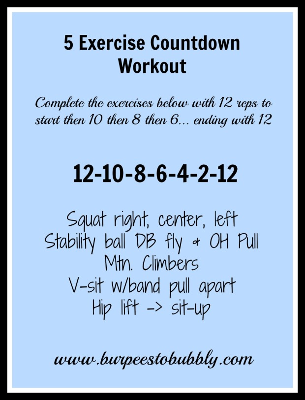 5-exercise-countdown-workout