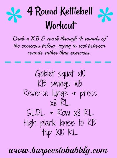 4 Round KB Workout